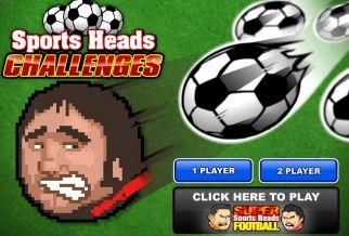 Graj w Sports Heads Challenges