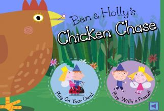 Graj w Ben and Hollys Little Kingdom: Chicken Chase