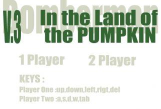 Graj w Bomberman - In the land of the Pumpkin