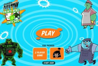 Graj w Danny Phantom: Dueling Decks
