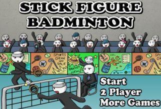 Graj w Stick Figure Badminton
