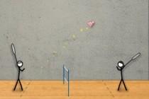 Stick Figure Badminton - Zrzut ekranu