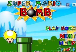 Graj w Super Mario Bomb