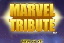 Marvel Tribute - Zrzut ekranu