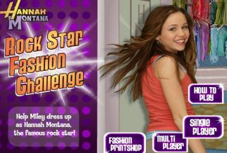 Graj w Hannah Montana: Rockstar Challenge