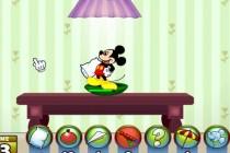 Myszka Miki: Bitwa na poduszki - Zrzut ekranu