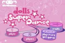 Dolls Super Dance - Zrzut ekranu