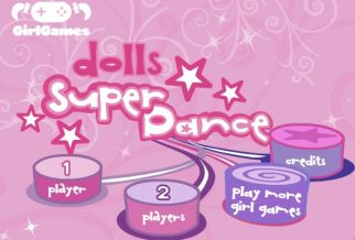 Graj w Dolls Super Dance