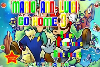 Graj w Mario And Luigi Go Home 3