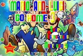 Graj w Mario And Luigi Go Home 3