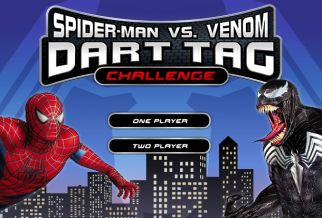 Graj w Spiderman Vs Venom Dart Tag