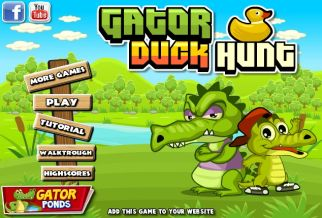 Graj w Gator Duck Hunt