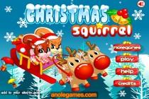 Christmas Squirrel - Zrzut ekranu