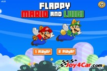 Flappy Mario and Luigi - Zrzut ekranu