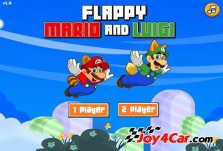 Graj w Flappy Mario and Luigi