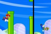 Flappy Mario and Luigi - Zrzut ekranu