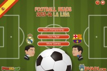 Football Heads 2013-14 La Liga - Zrzut ekranu