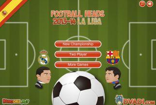 Graj w Football Heads 2013-14 La Liga