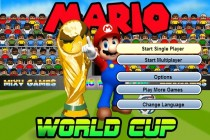 Mario World Cup - Zrzut ekranu