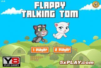 Graj w Flappy Talking Tom