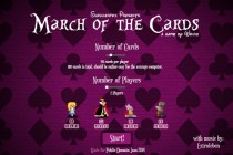 March Of The Cards - Zrzut ekranu
