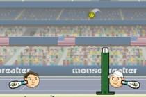 Sports Heads Tennis Open - Zrzut ekranu