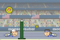 Sports Heads Tennis Open - Zrzut ekranu