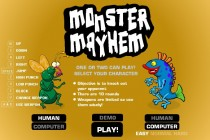 Monster Mayhem - Zrzut ekranu