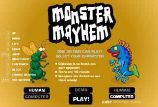 Graj w Monster Mayhem