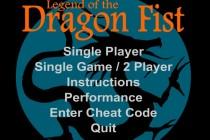 Legend of the Dragon Fist - Zrzut ekranu