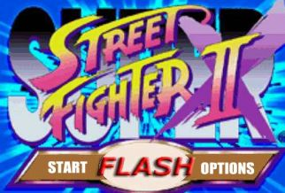 Graj w Street Fighter II Flash