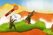 Bazooka Battle - Zrzut ekranu