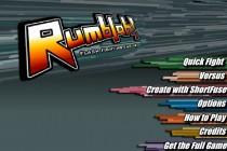 Rumblah: Flash Fighting Engine - Zrzut ekranu
