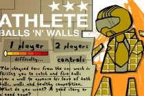 Athlete Balls 'n' Walls - Zrzut ekranu