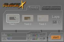 Race X - Zrzut ekranu