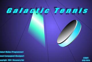 Graj w Galactic Tennis