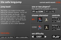 Sofa Long Jump - Zrzut ekranu