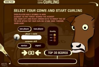 Graj w Brown Cow Curling