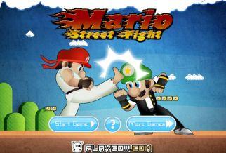 Graj w Mario Street Fight