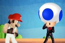 Mario Street Fight - Zrzut ekranu