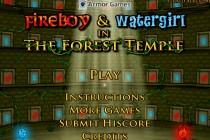 Ogień i Woda: Leśna Świątynia - Zrzut ekranu