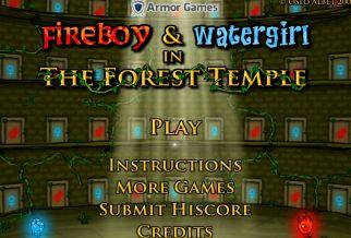 Graj w Ogień i Woda: Leśna Świątynia
