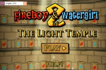 Fireboy and Watergirl 2: In The Light Temple - Zrzut ekranu