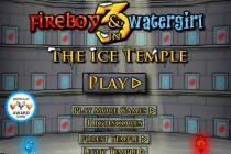 Ogień i Woda 3: Świątynia Lodu - Zrzut ekranu
