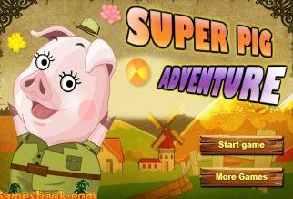 Graj w Super Pig Adventure