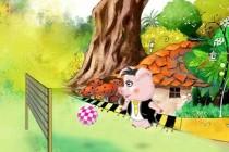Super Pig Adventure - Zrzut ekranu