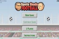 Piłka nożna głowami - Zrzut ekranu