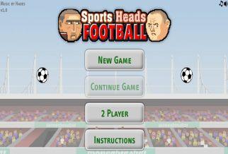 Graj w Sports Heads - Football: European Edition