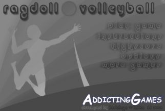 Graj w Ragdoll Volleyball