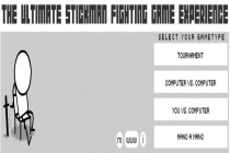 The Ultimate Stickman Fighting Game Experience - Zrzut ekranu